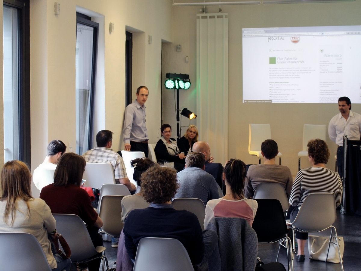 Online-Steuerberatung live in Leipzig