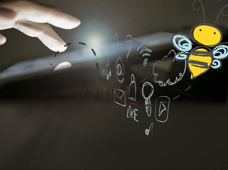 BIENE, ELFE, SESAM: digitale Spielereien der Finanzverwaltung