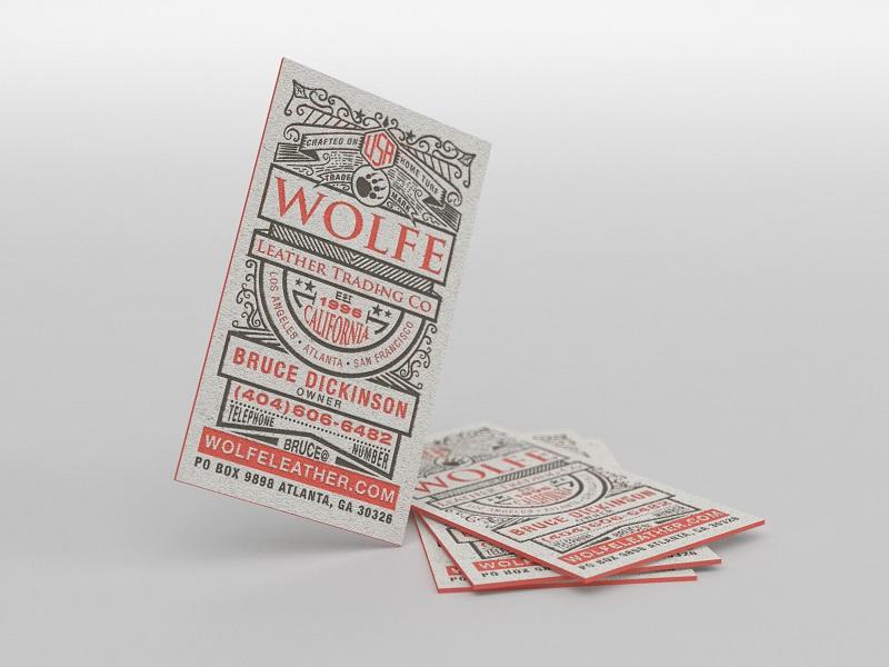 Visitenkarten Design von Cheeky Creative