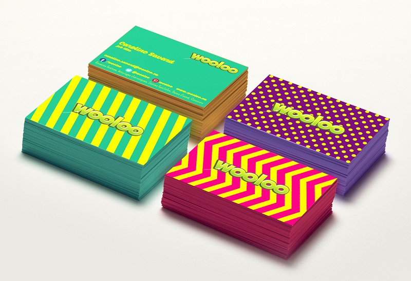 Farbe_Design von johony Visitenkarten