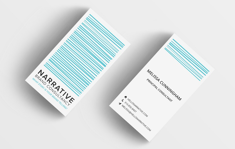 Format_Design von jessica-cauchi Visitenkarten