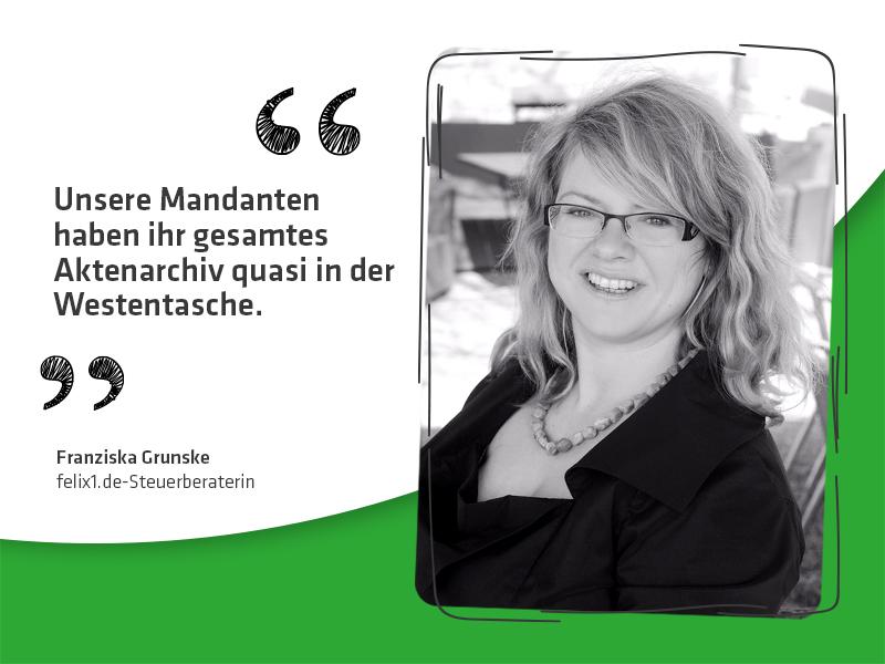 5 Fragen an felix1.de-Steuerberaterin Franziska Grunske