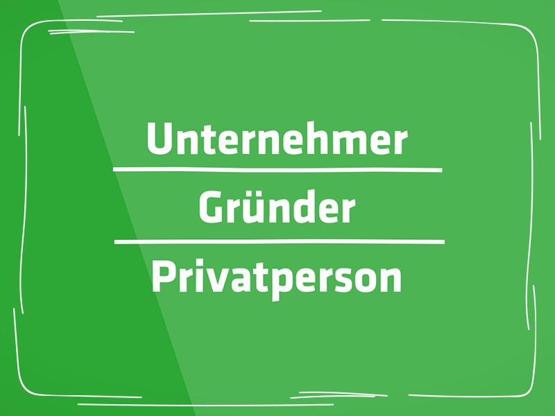 Steuerberatung für Unternehmer, Gründer und Privatpersonen