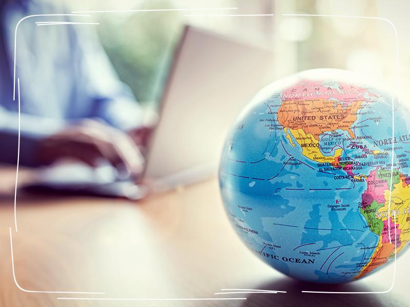 Weltkugel und grenzüberschreitende Steuersparmodelle