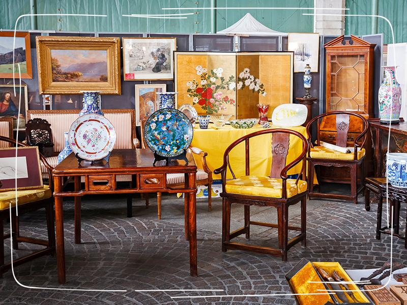 Antiquitätenverkauf über Onlinehandel